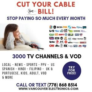Stop paying so mush every month for Cable TV