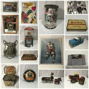 Collectibles Auction Ends Tonight