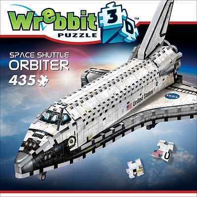 Wrebbit 3D Jigsaw Puzzle Space Shuttle Orbiter 435 Pcs   W3d 1008