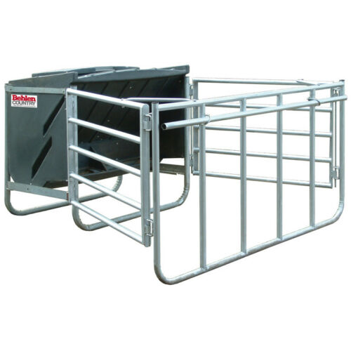 Behlen 750 lb capacity creep feeder