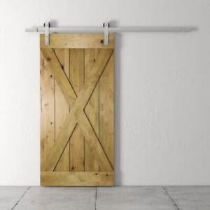Barn Door in Knotty Alder is Now on SALE - Only One Left!