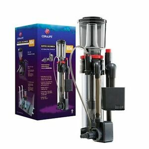 Coralife Super Skimmer 65 Protein Skimmer can hang-on tank or hook-up to a sump