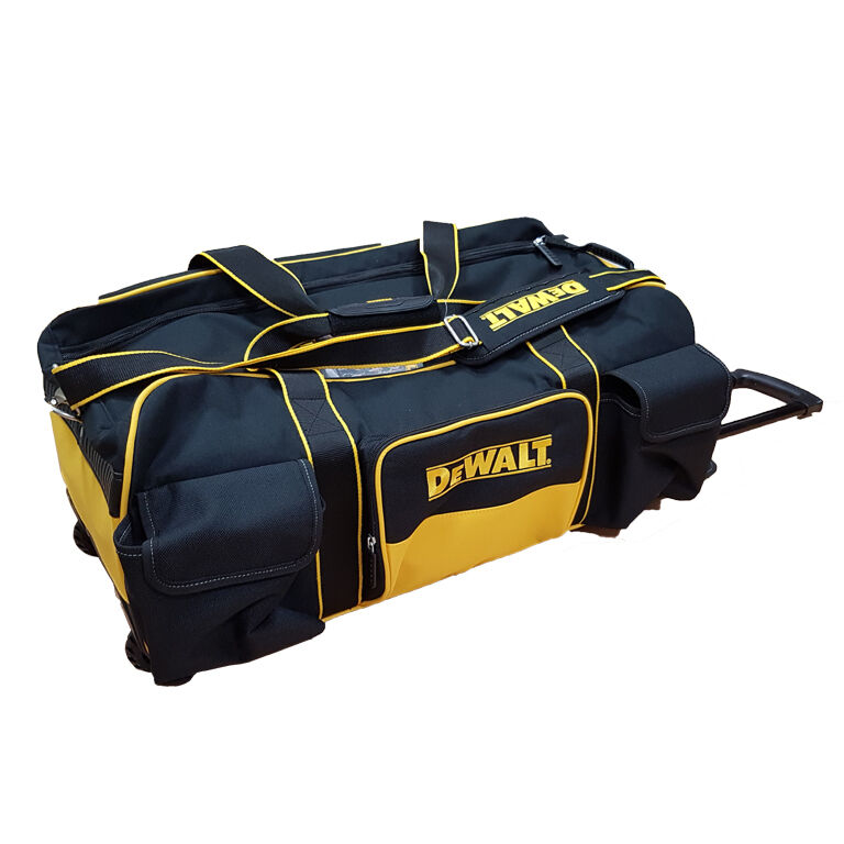 Dewalt duffle bag with wheels wall chaser and dust extractor