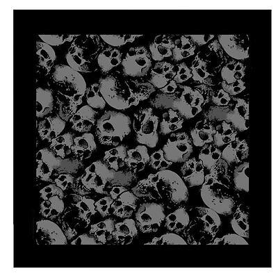 Biker Rocker Chopper Ancient Skulls Totenkopf Bandana Tuch Kopftuch Halstuch NEU