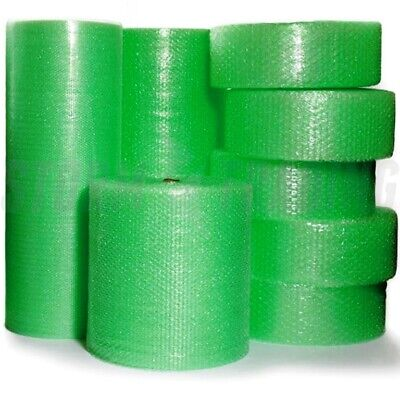 1 Roll of Biodegradable Bubble Wrap Rolls Small Bubble roll 500mm x 100m