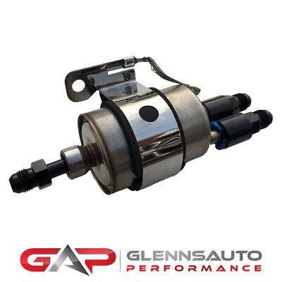 (C5 Corvette Fuel Pressure Regulator/Filter Kit w/ 6AN fittings - EFI or LS Swap)