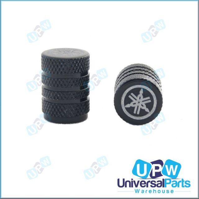 Tyre Wheel Tire Valve Caps - Yamaha Lasered Logo for Banshee BeeWee Big Bear