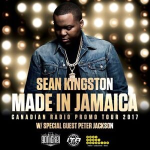 5 SEAN KINGSTON TICKETS