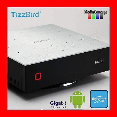 TizzBird F30 4th Generation Smart Network Media Player, Android 2.3 OS, USB 3.0