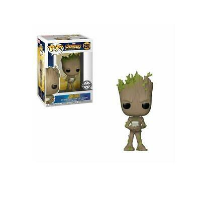 Funko POP!: Marvel: Vengadores: Infinity War: Groot Exclusivo