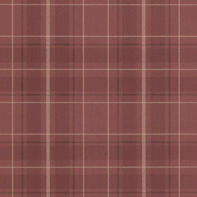 Oxford Caledonia Red Tartan Wallpaper Paste the Wall Plaid FD21224