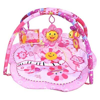 Baby Musical PINK FLOWER Sunflower Adventure Gym Activity Playmat Play Mat Toy