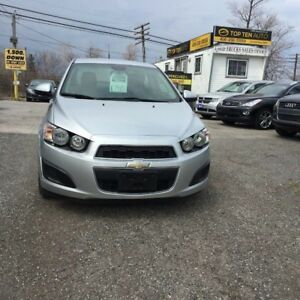 2013 Chevrolet Sonic Pre-Owned Certified- LS Special Order  Manu