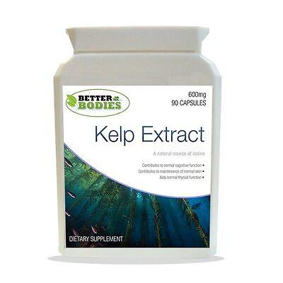 Sea Kelp Super Strength 600mg Tablets  Better Bodies 90
