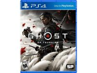 Ghost of Tsushima PS4 PS5 - Ealing, London - Collection or local drop off