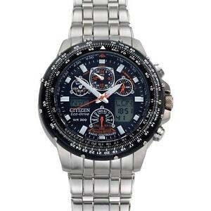 Citizen Skyhawk Watch  With Atomic Timekeeping