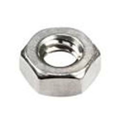 Stainless Steel Hex Machine Screw Nuts 12-24 Qty-100