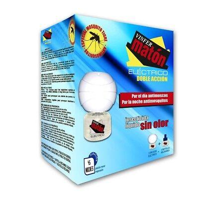 VINFERMATÓN ELÉCTRICO: Aparato eléctrico + botella. Insecticida anti - mosquitos