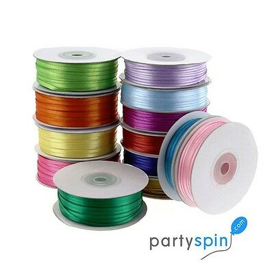 "как выглядит Лента и бант 1/8"" 1/16"" Double Face Satin Ribbon 100% Polyester, 100-yard Wholesale фото"