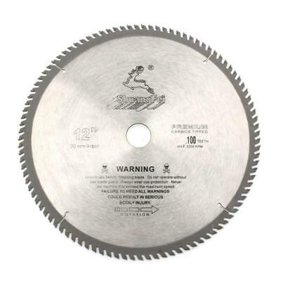 12 Inch Wood Or Aluminum Cutting 100teeth Saw Blade Tct Circular Saw Blade