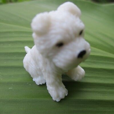 1:12 scale dollhouse miniature westie dog figure pet puppy for licca barbie doll
