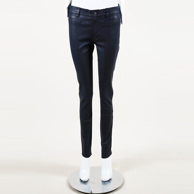 MiH Jeans Leather Skinny Jeans SZ 28