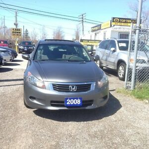 2008 Honda Accord FULLY CERTIFIED- LOADED EX-SUPER CLEAN IN/OUT