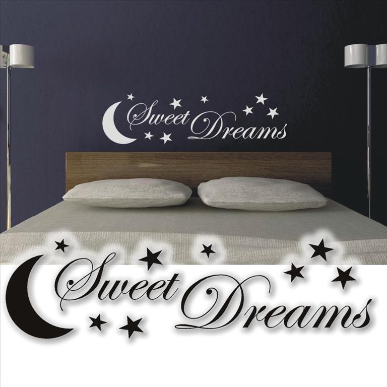 Wandtattoo sweet dreams wandsticker tattoos f r das schlafzimmer xxl ebay - Tattoo schlafzimmer ...
