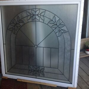 New Leaded, Tempered Glass Tripane