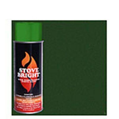 STOVE BRIGHT High Temp. Paint FORREST GREEN #6198 Green Stove Bright Paint