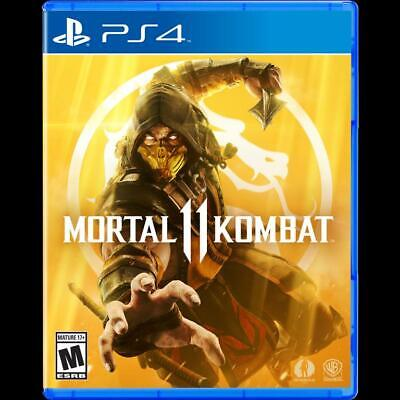 Mortal Kombat 11 PlayStation 4 PS4