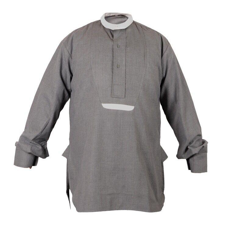 WW1 1st Australian Imperial Force Grey Flannel Service Shirt - Size 38 inch d471