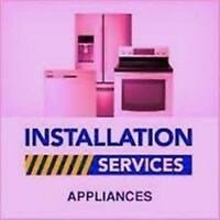 Gas stove, Fridge,Over the Range Microwave INSTALL/REPAIR