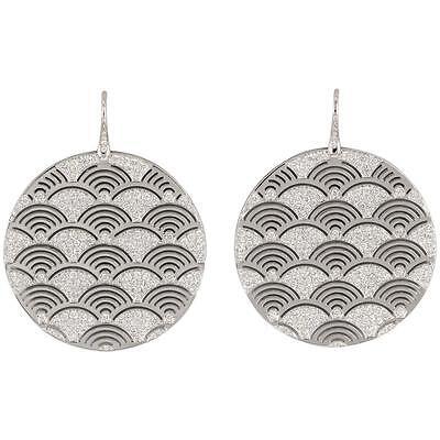 Gianni Bulgari Enigma Diamond White 18K Gold Drop Earrings