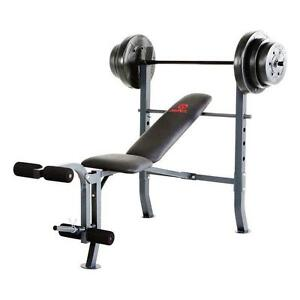 WORKOUT BENCHES + weights St. John's Newfoundland image 1
