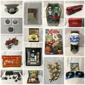 Online Collectibles Auction Ends Tonight