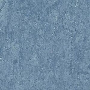Forbo marmoleum real linoleum sheet flooring natural lino for Blue linoleum floor tiles