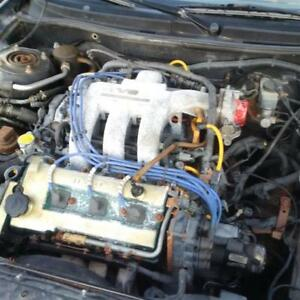 2.5L KLZE engine with 5 speed manual transmission