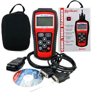 OBD2 Code Scan Tool Turn Off Engine Light Emission Readiness