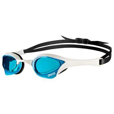 Arena Cobra Ultra Swim Swimming Goggle Goggles BLUE WHITE  New in Package Blue Swimming Goggles