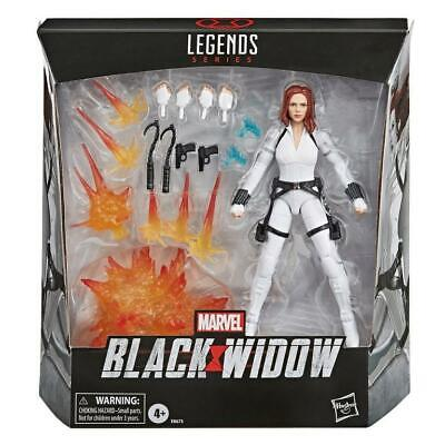 "Hasbro Marvel Legends Deluxe Black Widow Movie Figure 6"" NIB Avengers New MCU"