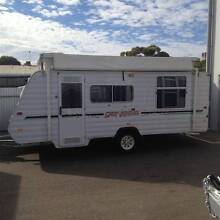 2007 WINDSOR GENESIS POPTOP CARAVAN, SOLAR Melrose Park Mitcham Area Preview