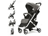 ::: Allis Lightweight Stroller baby Pushchair buggy travel pram :::