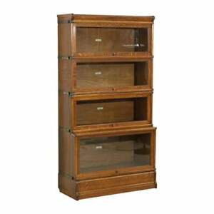 Antique Barristers Bookcase - delivery available
