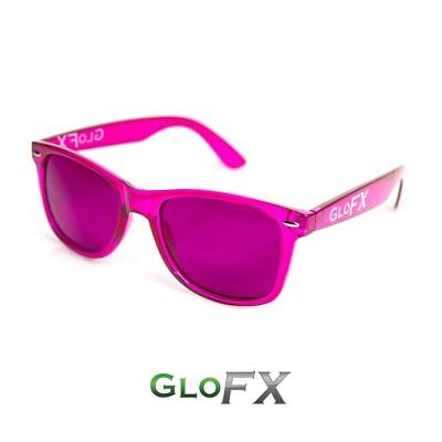 Glofx Magenta Color Therapy Glasses Emotional Balancing   Relaxation Glasses