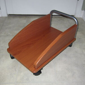 CPU tower caddy trolley cart stand