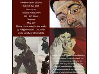 Free Art Exhibition TODAY!!!- Medway Open Studios - Sat 21st July 2018 @ Nucleus Arts centre