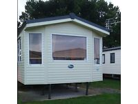 Static caravan for hire at haven seton sands