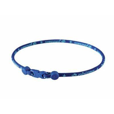 Aqua Titanium Necklace - PHITEN CLASSIC AQUA TITANIUM NECKLACE SIZE 18