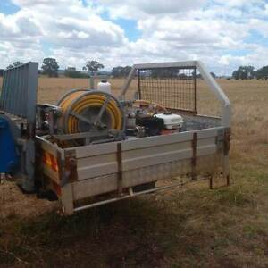 TANK BUILT INTO ALM UTE TRAY 600 L WITH PUMP Cudal Cabonne Area Preview